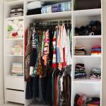 organizar o closet a casa que a minha vo queria
