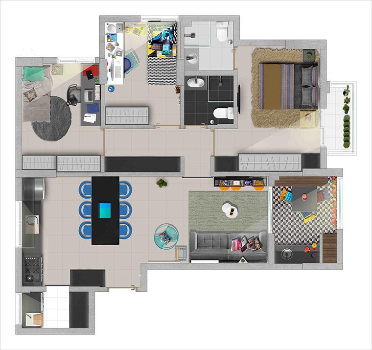 apartamento design 22