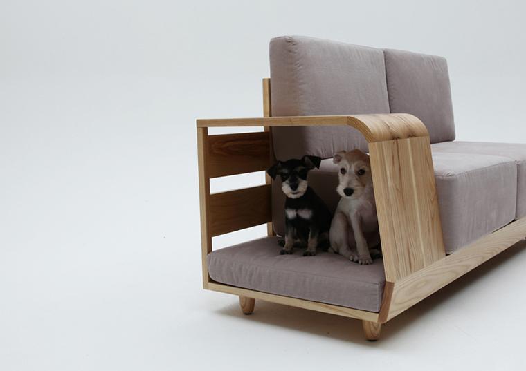 Móvel de quinta Dog House Sofa  (1)