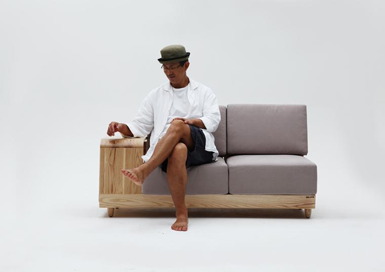 Móvel de quinta Dog House Sofa  (3)