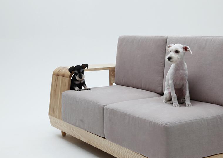 Móvel de quinta Dog House Sofa  (4)