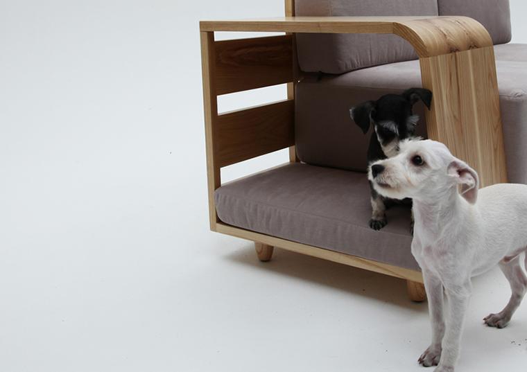 Móvel de quinta Dog House Sofa  (6)