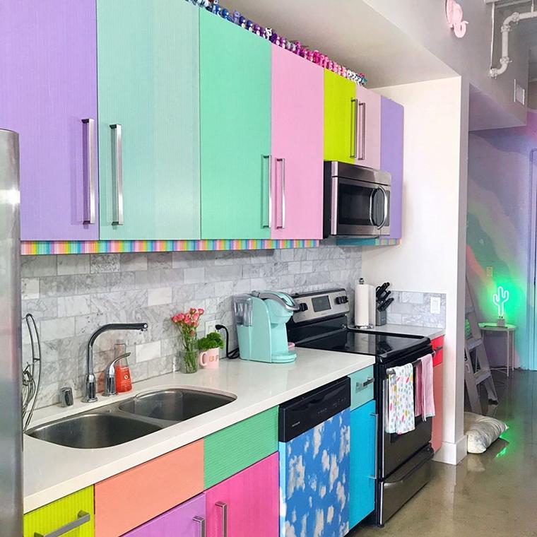 apartamento colorido unicornio6