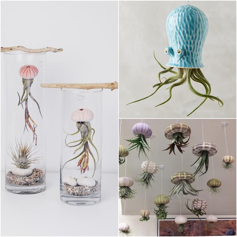 """Ideias criativas para decorar com plantas (ou polvo"""")"""