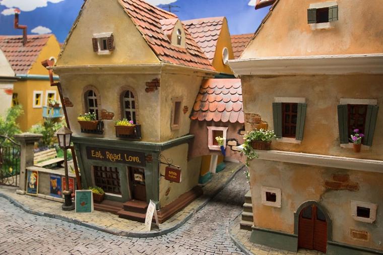 cidade em miniatura de hamster1