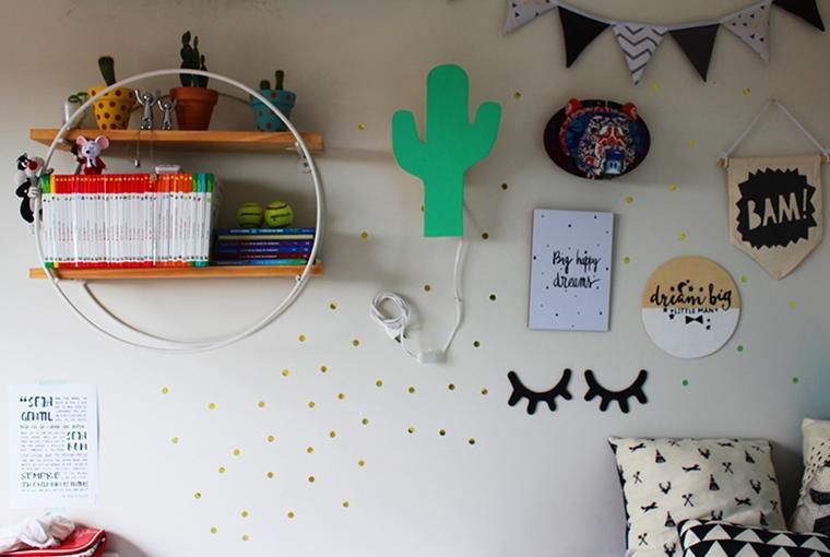como decorar as paredes do quarto das crianças3
